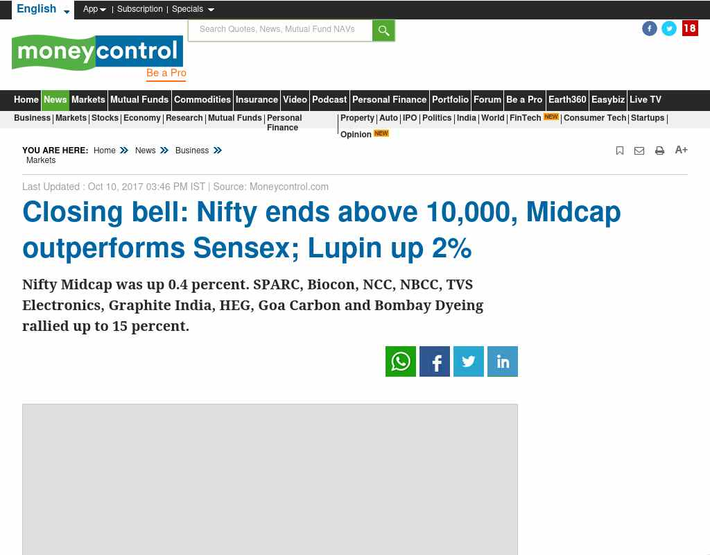 Market Live: Nifty continues to hold 10K, Sensex higher
